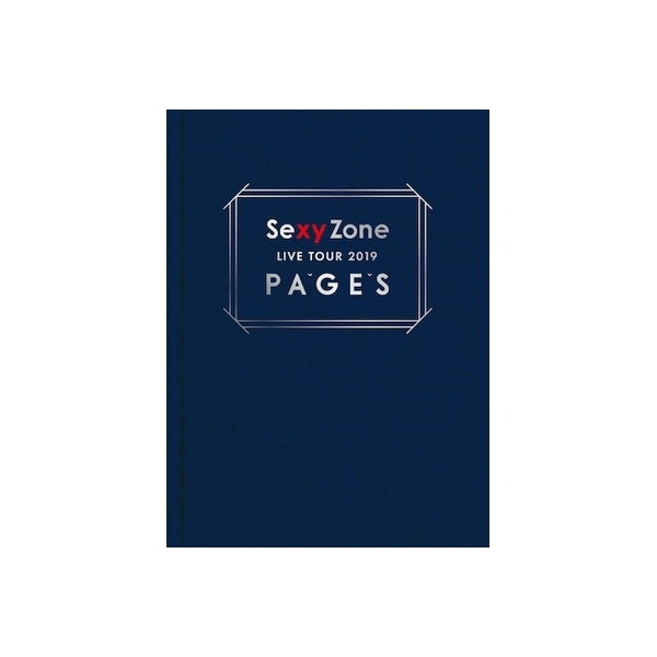 Sexy Zone / Sexy Zone LIVE TOUR 2019 PAGES 【初回限定盤】(Blu-ray)【BLU-RAY DISC】