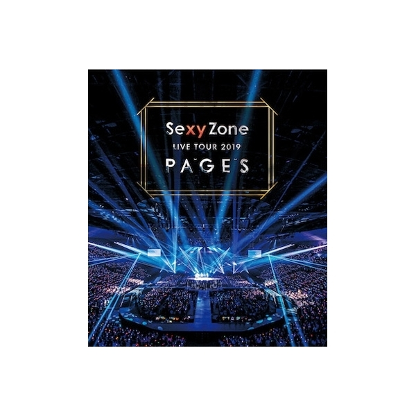 Sexy Zone / Sexy Zone LIVE TOUR 2019 PAGES (Blu-ray)【BLU-RAY DISC】