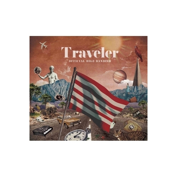 Official髭男dism / Traveler 【初回限定盤 LIVE DVD盤】【CD】