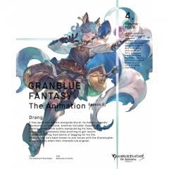【送料無料】 GRANBLUE FANTASY The Animation Season 2 Vol.4 【完全生産限定版】【BLU-RAY DISC】