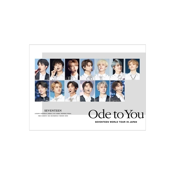 SEVENTEEN / 《ハイタッチ会エントリーカード付き》SEVENTEEN WORLD TOUR 'ODE TO YOU' IN JAPAN (2Blu-ray)【初回限定盤/Loppi・HMV限定】【BLU-RAY DISC】