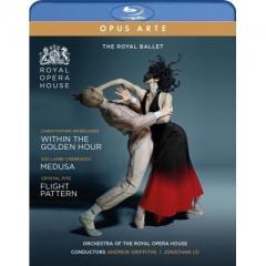 【送料無料】 バレエ&ダンス / トリプルビル~『ウィズイン・ザ・ゴールデン・アワー』 『メデューサ』 『フライト・パターン』 英国ロイヤル・バレエ(2019)【BLU-RAY DISC】