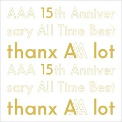 【送料無料】 AAA / AAA 15th Anniversary All Time Best -thanx AAA lot- 【初回生産限定盤】【CD】