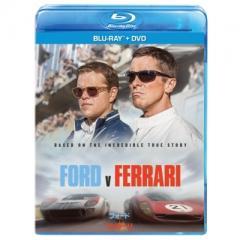 【送料無料】 フォードvsフェラーリ ブルーレイ+DVDセット【BLU-RAY DISC】