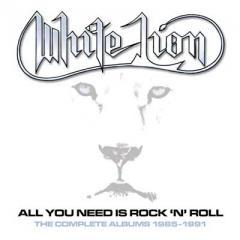 【送料無料】 White Lion ホワイトライオン / All You Need Is Rock 'n' Roll:  The Complete Albums 1985-1991 (Clamshell 5CD Box Set)【CD】