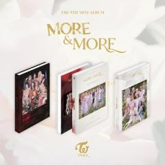 TWICE / 9th Mini Album:  MORE  &  MORE (ランダムカバー・バージョン)【CD】