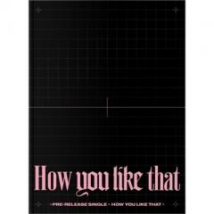 BLACKPINK / BLACKPINK SPECIAL EDITION:  How you like that (CD+132P PHOTOBOOK) 【CDS】