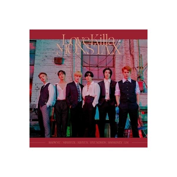 MONSTA X / Love Killa-Japanese ver.- 【通常盤】<初回プレス限定> (+トレーディングカード)【CD Maxi】