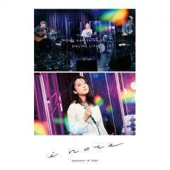 【送料無料】 上白石萌音 / MONE KAMISHIRAISHI ONLINE LIVE 2020 「i note」 (Blu-ray)【BLU-RAY DISC】