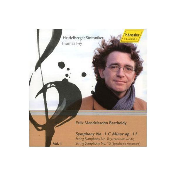 Mendelssohn メンデルスゾーン / 交響曲第1番、他 ファイ&ハイデルベルク交響楽団【CD】