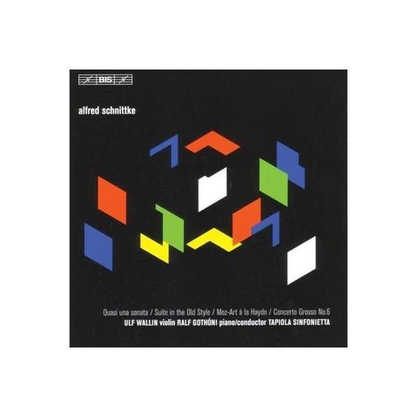 シュニトケ(1934-1998) / Quasi Una Sonata,  Moz-art A Lahaydn,  Etc:  Wallin(Vn) Gothoni  /  Tapiola【CD】