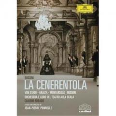 Rossini ロッシーニ / 『チェネレントラ』全曲 ポネル演出・監督、アバド&スカラ座、シュターデ、アライサ、他(1981 ステレオ)【DVD】