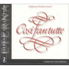 Mozart モーツァルト / 『コジ・ファン・トゥッテ』全曲 スイトナー&シュターツカペレ・ベルリン、カサピエトラ、アダム、他(1969 ステレオ)(2CD)【CD】
