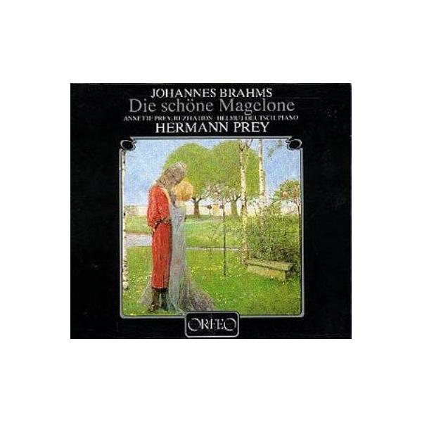 Brahms ブラームス / Die Schone Magelone:  Prey(Br) H.deutsch(P) A.prey(Narr)【CD】