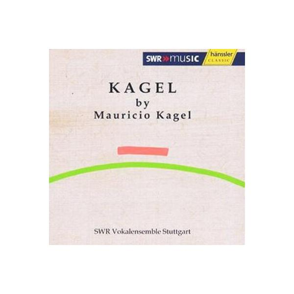 カーゲル、マウリシオ(1931-2008) / Rrrrrrr...,  Anagrama,  Etc:  Stuttgart Rso Swr Vokalensemble【CD】