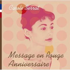 Carole Serrat / ゴールデン☆ベスト キャロル・セラ ルージュの伝言+アニヴァーサリー【CD】