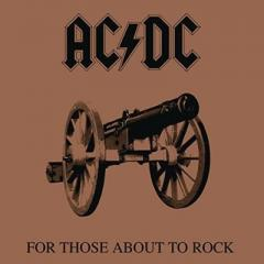 AC/DC エーシーディーシー / For Those About To Rock We Salute You (アナログレコード)【LP】