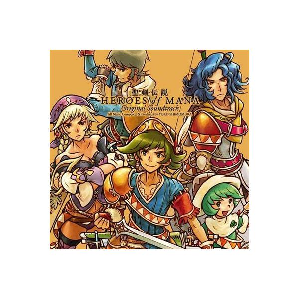 ゲーム ミュージック  / 聖剣伝説 HEROES OF MANA Original Soundtrack【CD】