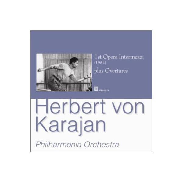 オムニバス(管弦楽) / オペラ間奏曲集+序曲集 カラヤン&フィルハーモニア管弦楽団【CD】