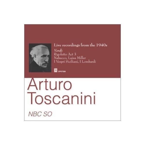 """Verdi ベルディ / """"オペラ序曲、名場面集 トスカニーニ&NBC交響楽団(1943,  44)""""【CD】"""