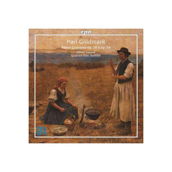 ゴルトマルク(1830-1915) / Piano Quintet Op,  30,  54,  :  Triendl(P) Quatuor Sine Nomine【CD】