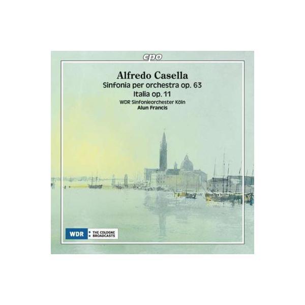 Casella カゼッラ / 交響曲第3番、ラプソディ『イタリア』 フランシス&ケルン放送響【CD】