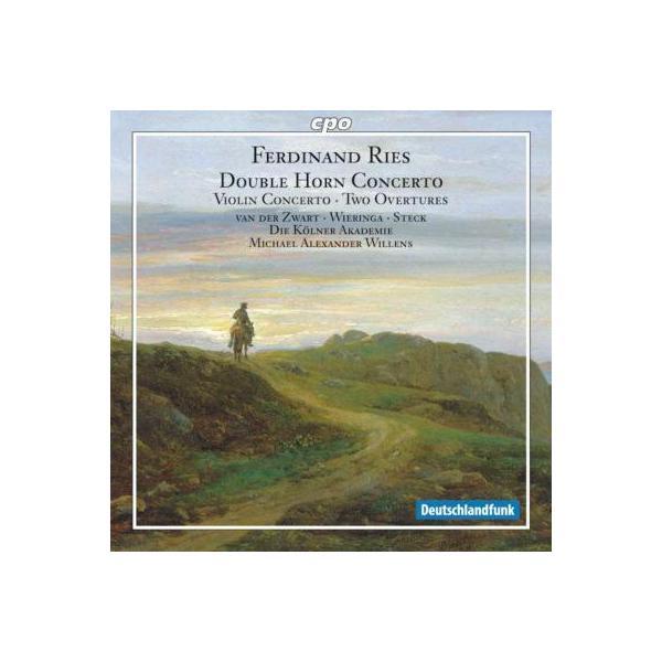 Ries リース / ヴァイオリン協奏曲、2つのホルンのための協奏曲、他 シュテック、ヴィレン&ケルナー・アカデミー、他【CD】