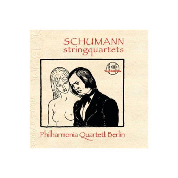 Schumann シューマン / String Quartet,  1,  2,  3,  :  Philharmonia Quartett Berlin【CD】