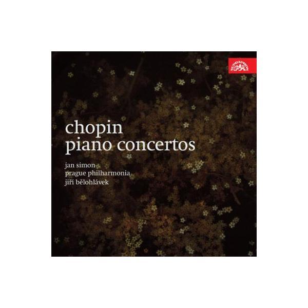 Chopin ショパン / ピアノ協奏曲第1番、第2番 ヤン・シモン、ビエロフラーヴェク&プラハ・フィルハーモニア【CD】