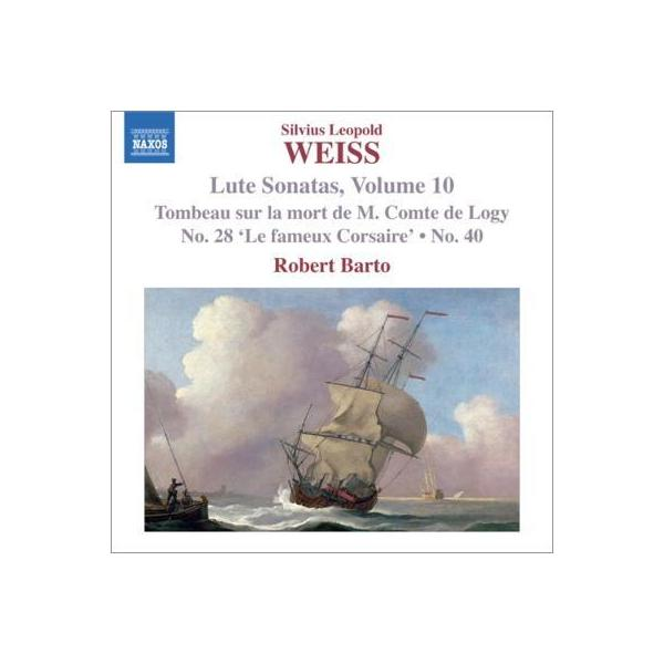 Weiss バイス / リュートのためのソナタ集第10集 バート【CD】