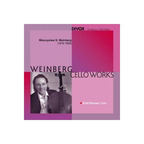 Vainberg バインベルグ / 無伴奏チェロ・ソナタ第2番、前奏曲集、『夜』 エミール・ロフナー【CD】