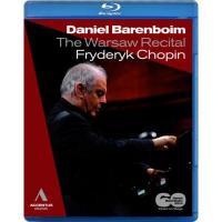 【送料無料】 Chopin ショパン / 『ショパン・リサイタル・イン・ワルシャワ2010』 バレンボイム【BLU-RAY DISC】