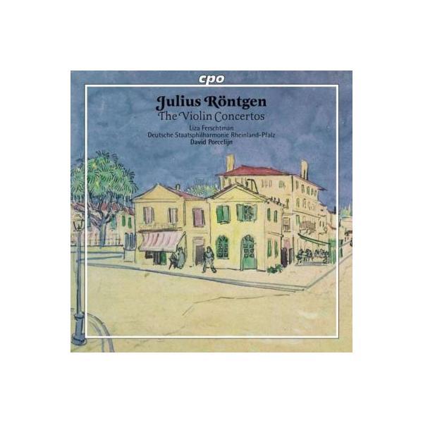 レントヘン(1855-1932) / ヴァイオリン協奏曲集、バラード フェルシュトマン、ポルセリーン&ラインラント=プファルツ州立フィル【CD】