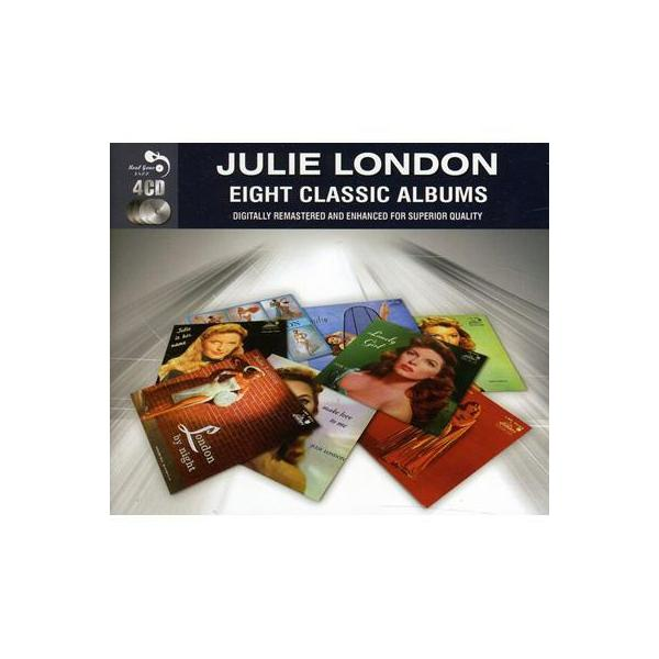 Julie London ジュリーロンドン / Eight Classic Albums【CD】