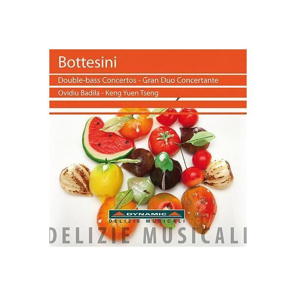ボッテシーニ、ジョヴァンニ(1821-1889) / コントラバス協奏曲第1番、第2番、協奏的大二重奏曲、他 バディラ(Cb)、ズッカリーニ&ミラノ・ポメリッジ・ムジカーリ管【CD】