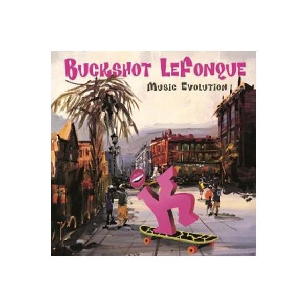 Buckshot Lefonque (Branford Marsalis) / Music Evolution (180g)【LP】