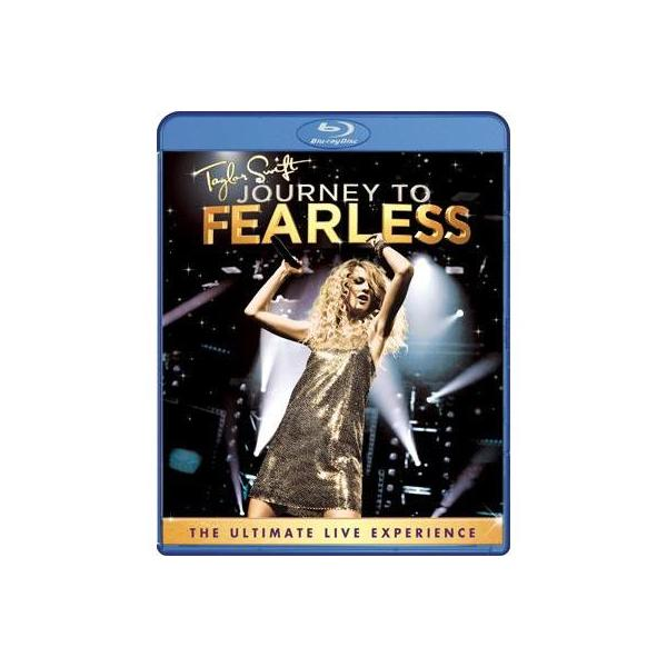 Taylor Swift テイラースウィフト / Journey To Fearless【BLU-RAY DISC】