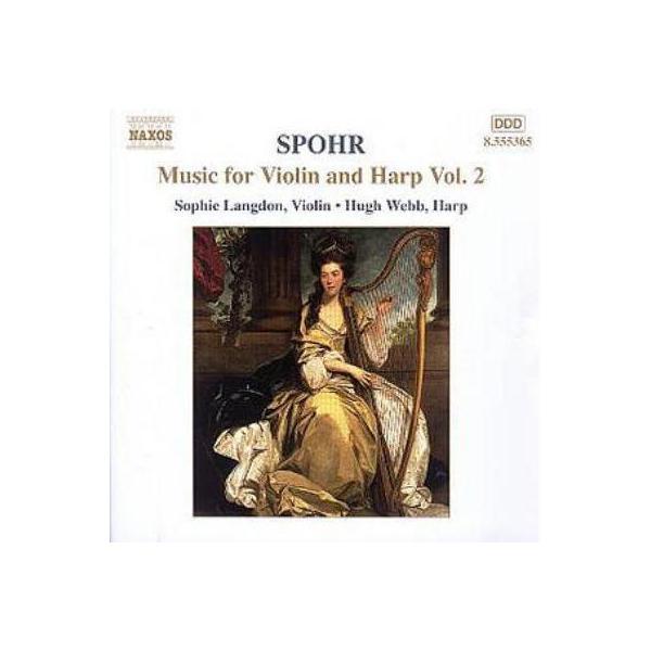 Spohr Louis (Ludwig) シュポア / <ヴァイオリンとハープのための作品全集2>ソナタ・コンチェルタンテ / 幻想曲 / 他 ラングドン / ウェブ / スマート / モンゴメリ / ドリー【CD】