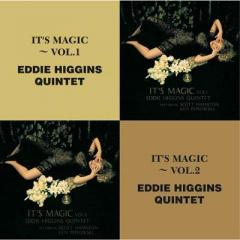 Eddie Higgins/Scott Hamilton/Ken Peplowski  / It's Magic:  Vol.1  /  It's Magic:  Vol.2【CD】