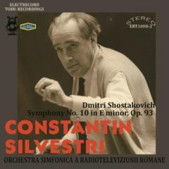 Shostakovich ショスタコービチ / 交響曲第10番 シルヴェストリ&ルーマニア国立放送交響楽団(1967年ステレオ・ライヴ)【CD】