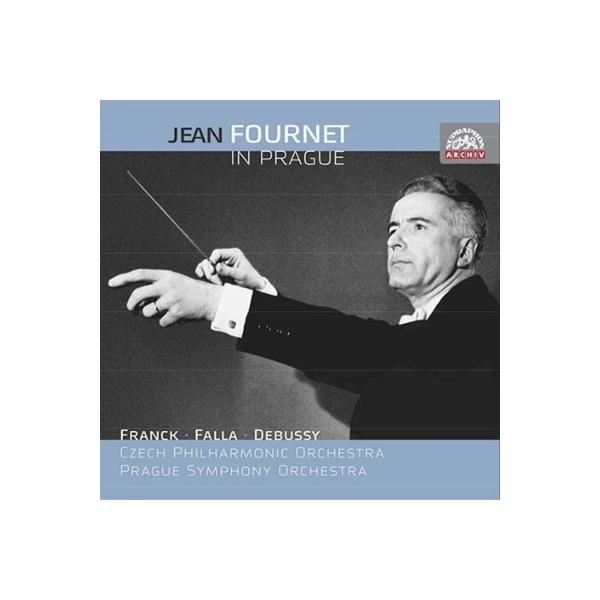 オムニバス(管弦楽) / 『プラハのジャン・フルネ~ドビュッシー、フランク、ファリャ』 チェコ・フィル、プラハ響(3CD)【CD】