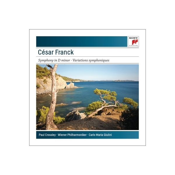 Franck フランク / 交響曲、交響的変奏曲 ジュリーニ&ウィーン・フィル、クロスリー【CD】