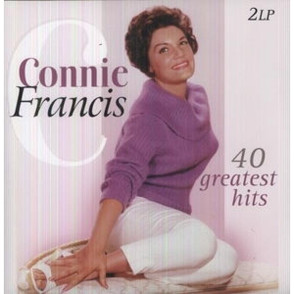 Connie Francis コニーフランシス / 40 Greatest Hits (2LP)(180グラム重量盤)【LP】