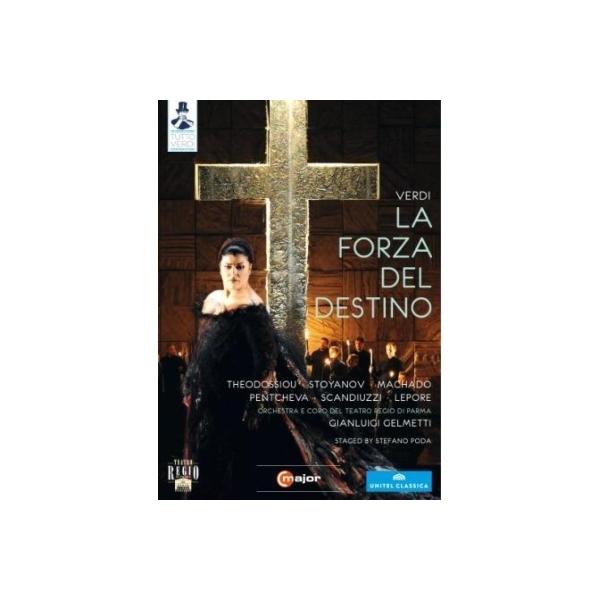 Verdi ベルディ / 『運命の力』全曲 ポーダ演出、ジェルメッティ&パルマ・レッジョ劇場、テオドッシュウ、マチャード、他(2011 ステレオ)(日本語字幕付)【DVD】