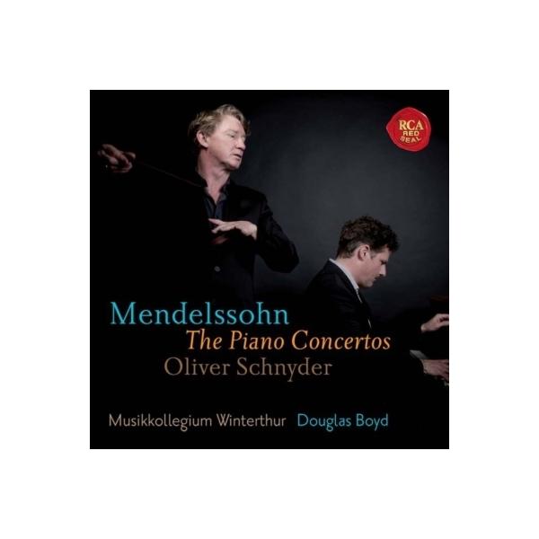 Mendelssohn メンデルスゾーン / ピアノ協奏曲集 シュニーダー、ボイド&ヴィンタートゥール・ムジークコレギウム【SACD】