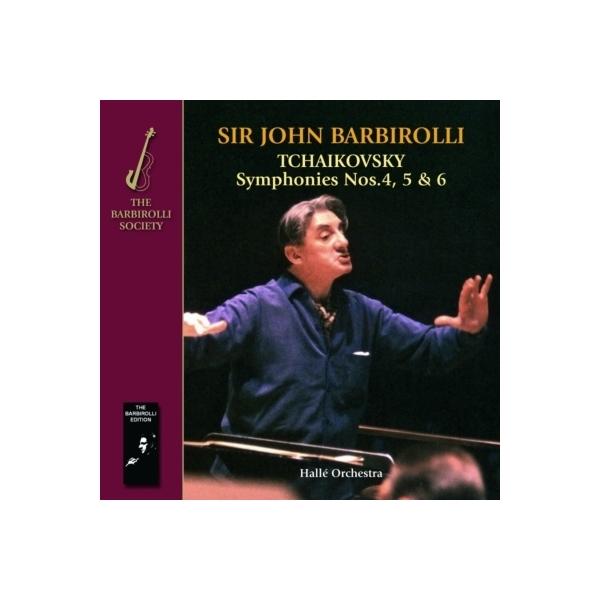 Tchaikovsky チャイコフスキー / 交響曲第4番、第5番、第6番『悲愴』、スラヴ行進曲 バルビローリ&ハレ管弦楽団(2CD)【CD】