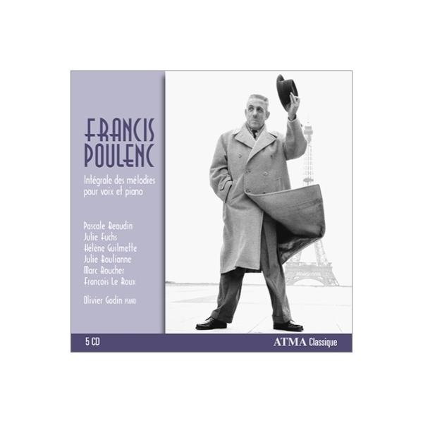 Poulenc プーランク / 歌曲全集 ギュメット、ブーリアンヌ、ル・ルー、ゴダン、他(5CD)【CD】
