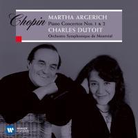 Chopin ショパン / ピアノ協奏曲第1番、第2番 アルゲリッチ、デュトワ&モントリオール交響楽団【CD】