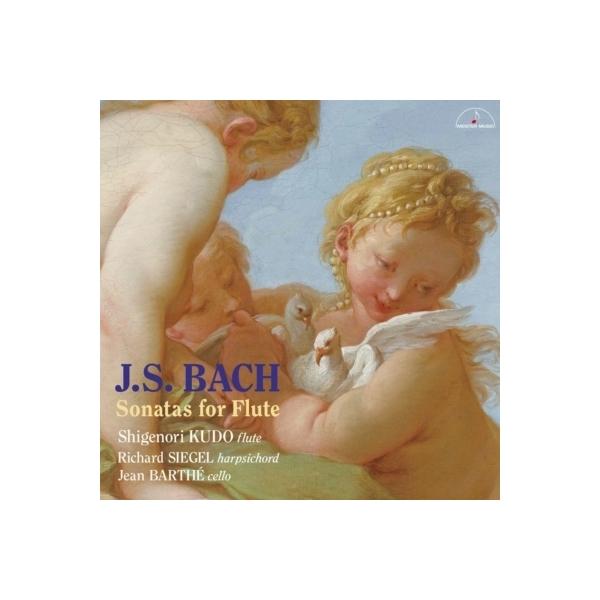 Bach, Johann Sebastian バッハ / フルート・ソナタ集 工藤重典、シーゲル、J.バルト(2CD)【CD】