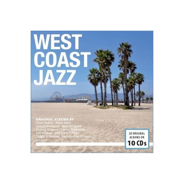 オムニバス(コンピレーション) / West Coast Jazz (10CD)【CD】